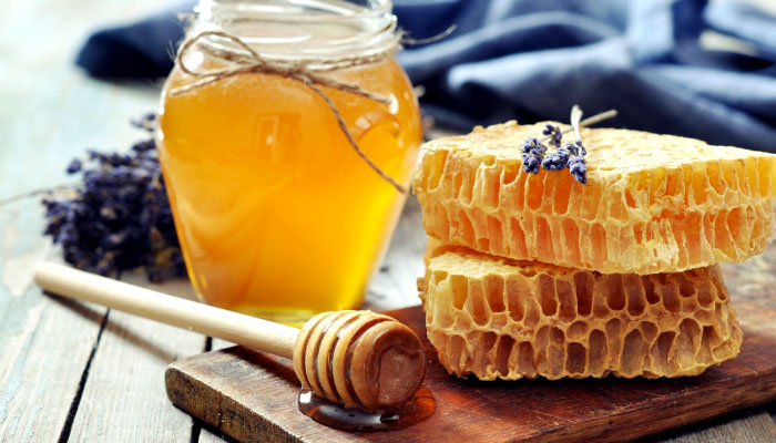 Honey, an essential element in Father Zago's Aloe juice recipe. Let's see why