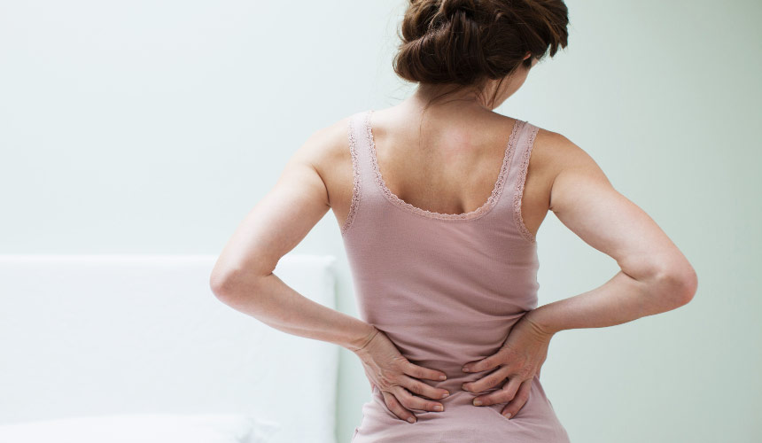 Aloe treatment for back, joint and muscle pain