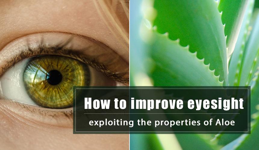 The ancient Russian recipe based on Aloe to improve eyesight